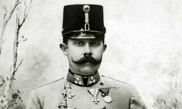 Знаменитый хозяин замка Франц-Фердинанд