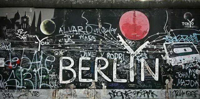 Берлин. Так стал выглядеть рисунок через 20 лет