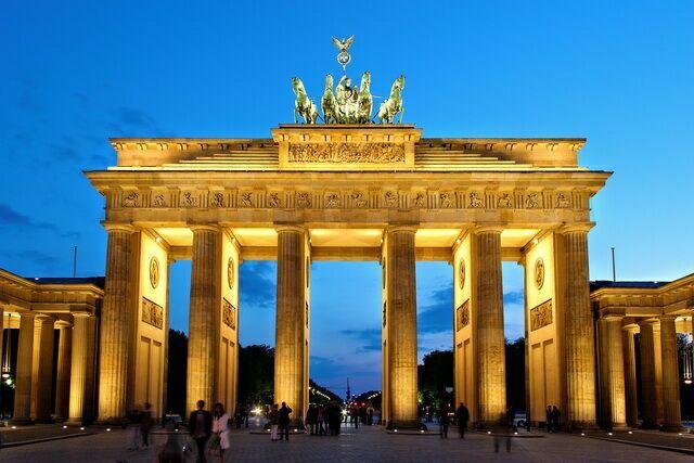 Берлин. Brandenburger Tor