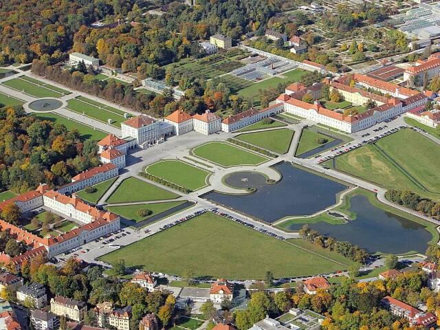 Дворец Мюнхен с высоты