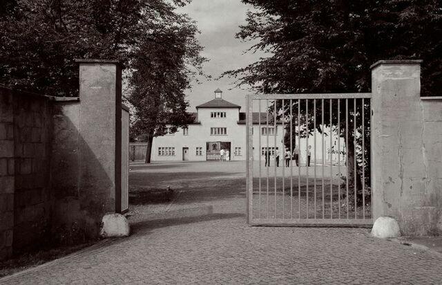 Главный вход в концлагерь Заксенхаузен