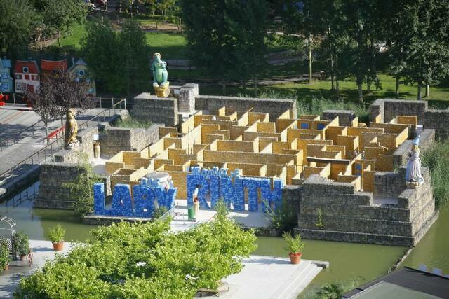 Лабиринт в Ravensburger Spieleland