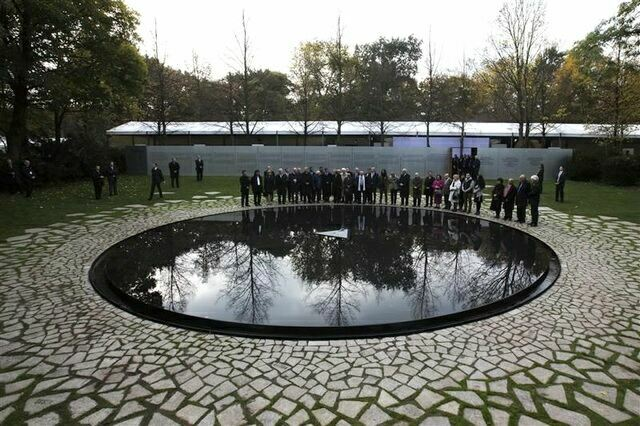 Мемориал погибшим цыганам