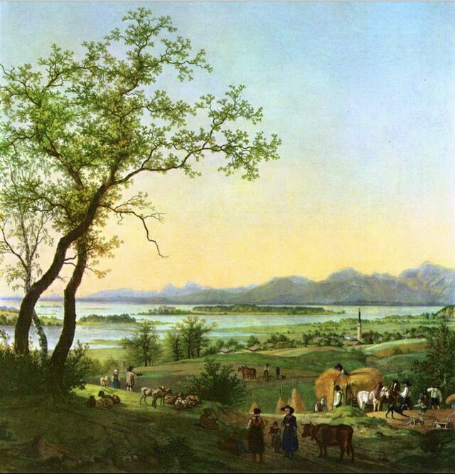 Петер фон Хесс Кимзее в XIX веке