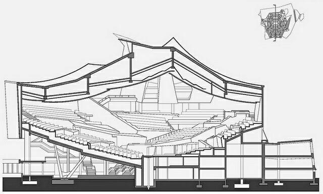 План зала Берлинской филармонии