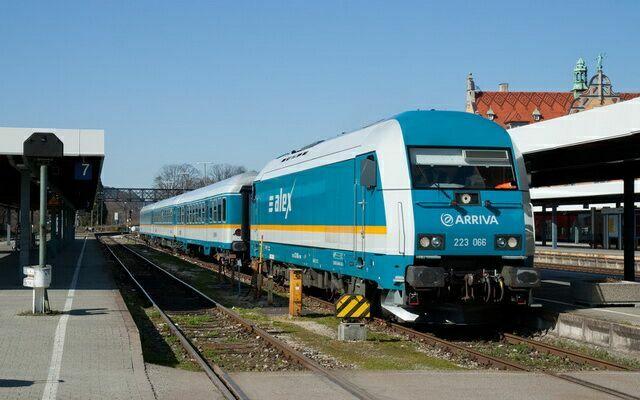 Поезд компании Alex