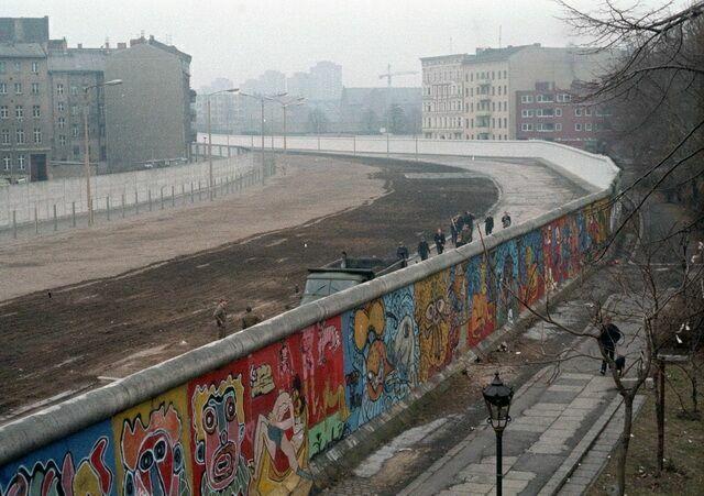 Территория Берлинской стены
