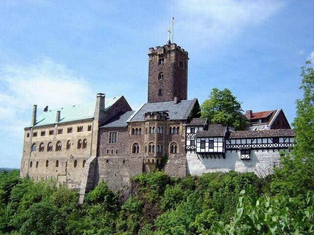 Замок Вартбург в наши дни