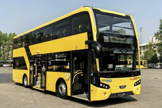 Автобус компании BVG