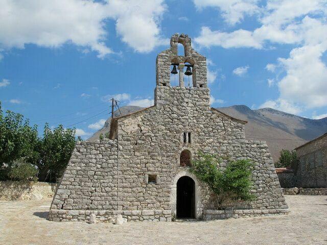 Areopoli, Мани, Церковь Святого Иоанна