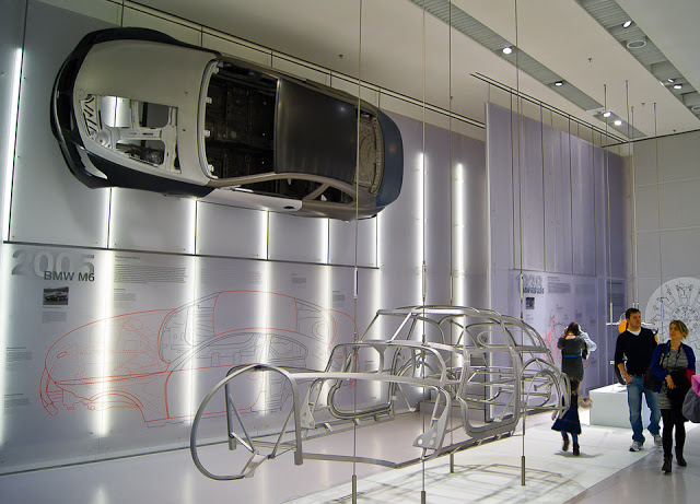 Автомобиль в разрезе музей БМВ