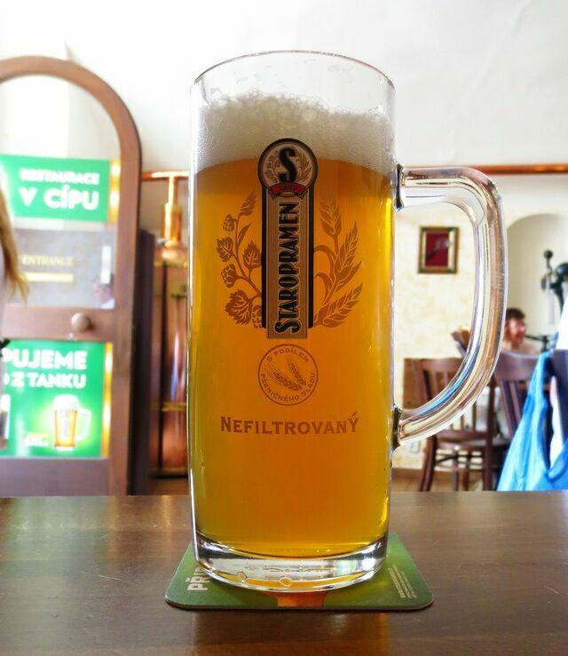 Cвежее пиво в Старом Месту