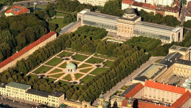 Городской парк Хофгартен