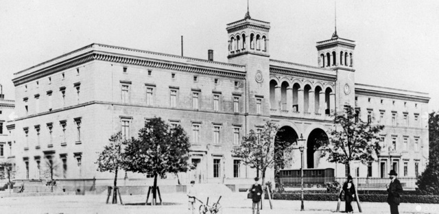 Hamburger Bahnhofs в 1860 году