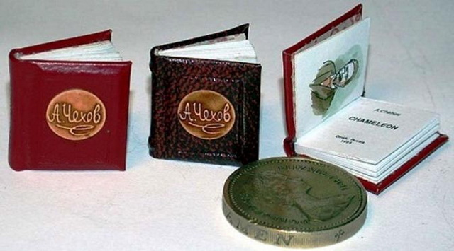 Книга Чехова музей миниатюр