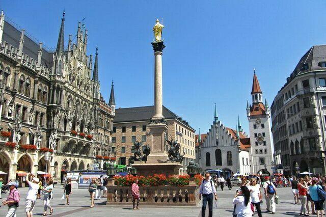 Колонна Марии на Мариенплац