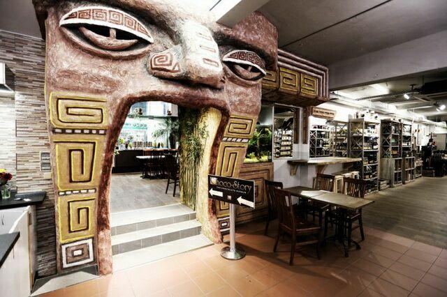 Магазин музей шоколада в Праге