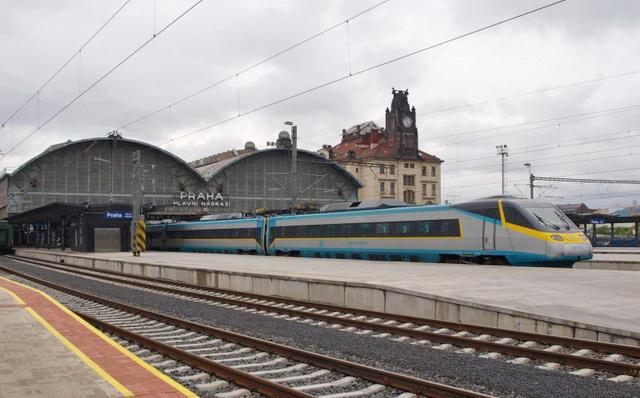 Международные отправления вокзал Праги