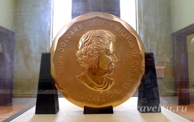 Монета стоимостью в 1 миллион долларов
