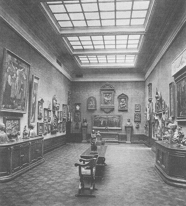 Музей Боде старая фотография