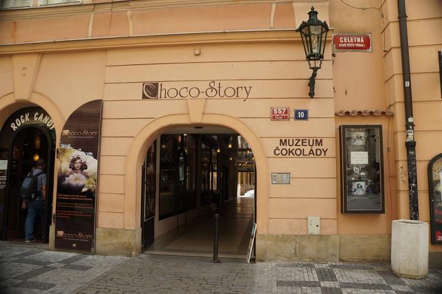 Музей шоколада Прага