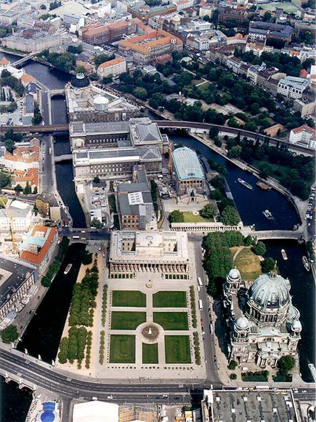 Музейный остров и кафедральный собор