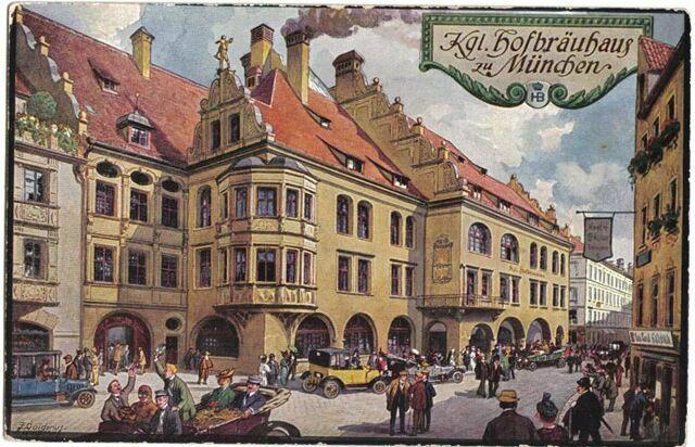 Мюнхен Хофбройхаус