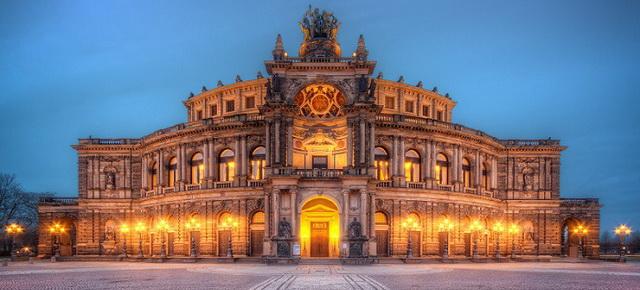 Semper Opera House in Dresden, Germany