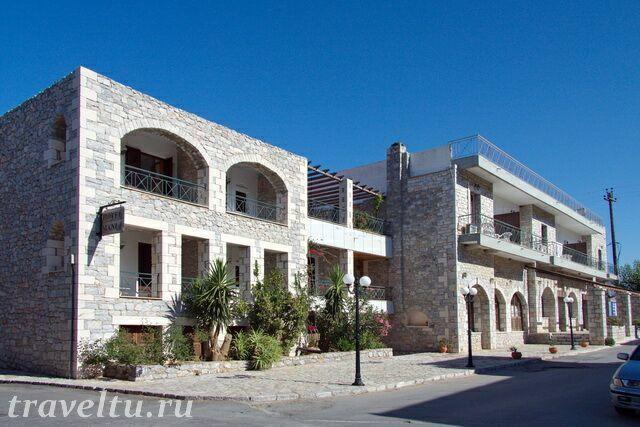 Отель Mani в Ареополисе