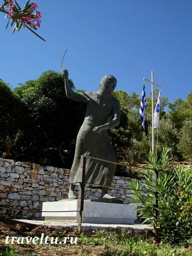 Памятник Маниотке