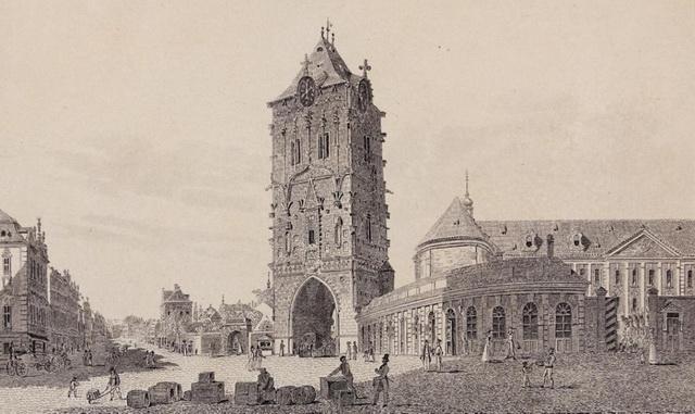 Пороховая башня картинка