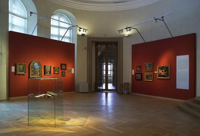 Штернбергский дворец выставка картин