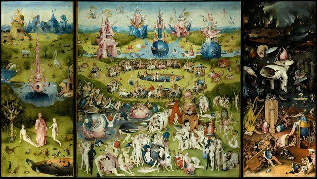 Триптих Сады земных наслаждений