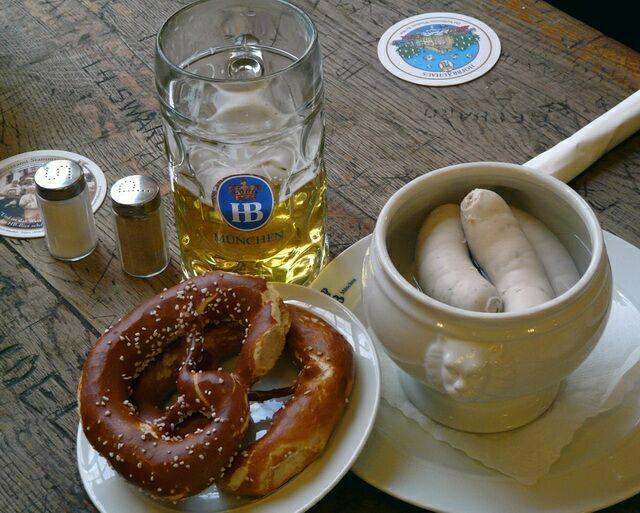 Закуски к пиву Хофбройхаус