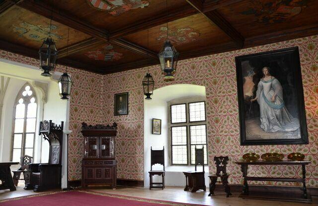 Зал замок Рожмберк
