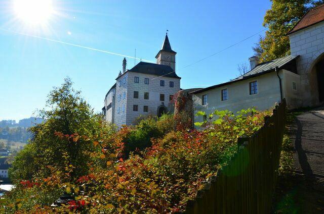 Замок Рожмберк Чехия