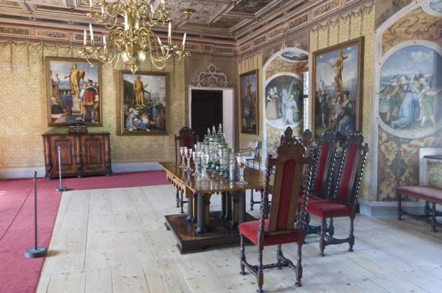 Замок Рожмберк интерьер