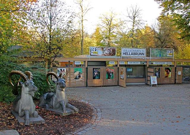 Зоопарк Мюнхена Hellabrunn