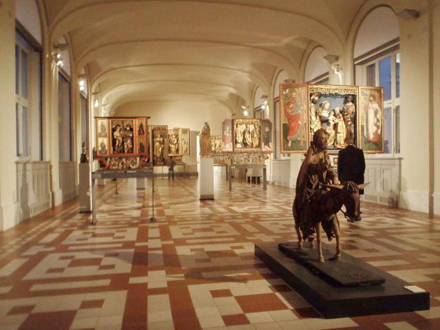 один из залом в музее Боде