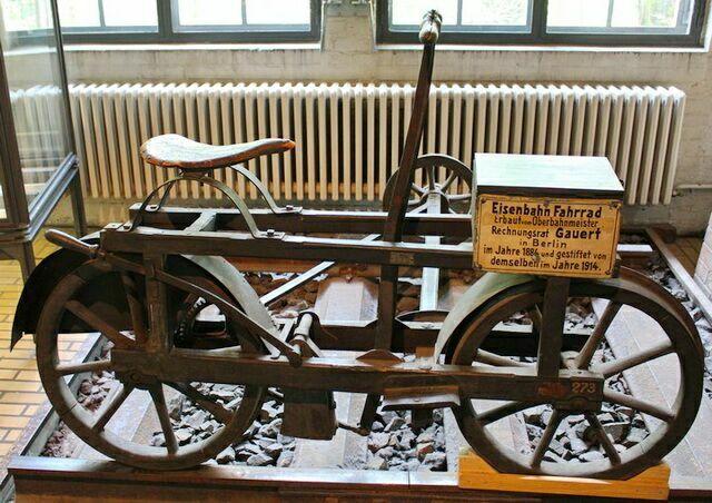 зал транспорта Немецкий технический музей в Берлине