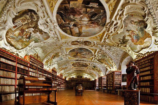 Библиотека Страговский монастырь
