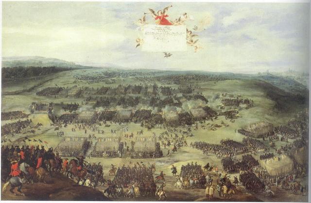 Битва на Белой горе картинка