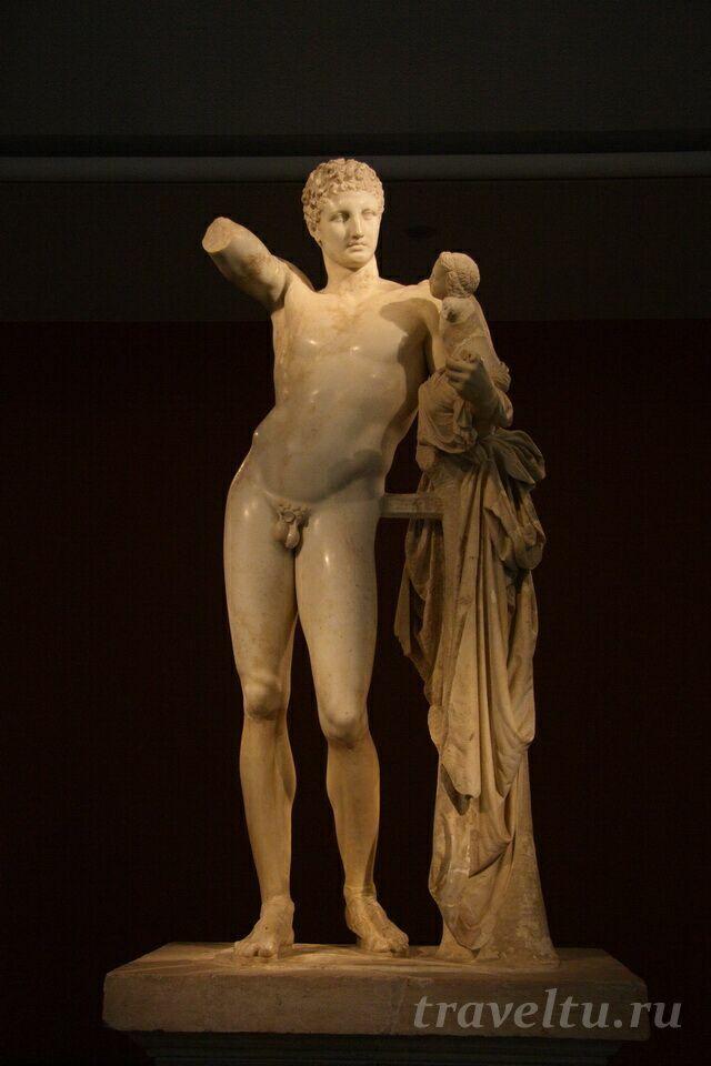 Древняя Олимпия Пракситель