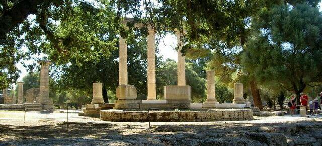 Древняя Олимпия в Греции