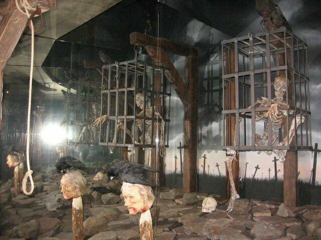 Экспонаты пражского музея пыток
