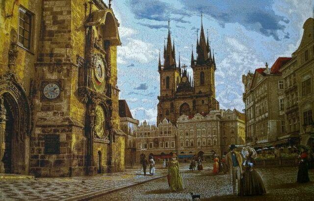 Гобелен Староместская площадь