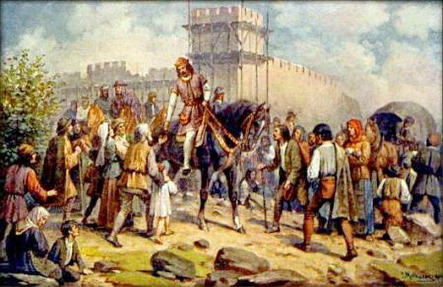Карл IV Голодная стена