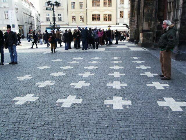 Кресты на Староместской площади