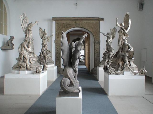 Лапидариум скульптуры