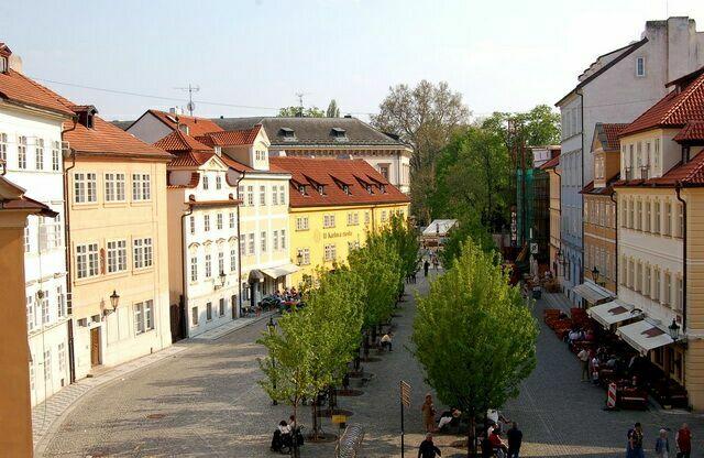 Остров Кампа Прага